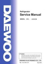 Buy DAEWOO SM FR-4502N (E) Service Data by download #146821