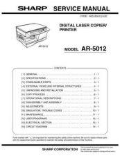 Buy Sharp AR350M-450M-M350-M450 CD GB-JP(1) Manual by download #170071