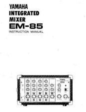 Buy Yamaha EM85 EN OM Operating Guide by download Mauritron #204639