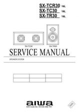 Buy AIWA SX-TR30 C Service Schematics by download #130141