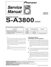 Buy PIONEER R2353 Service Data by download #153295