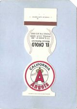 Buy CA Anaheim Sport Baseball Contour Matchcover 1981 California Angels Home S~197
