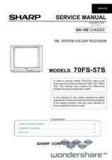 Buy Sharp 70FS57S SM GB(1) Manual.pdf_page_1 by download #178833