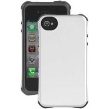 Buy Ballistic Iphone 4 And 4s Aspira Series Case (white And Charcoal)