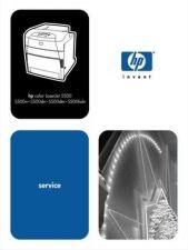 Buy HP COLOR LASERJET 5500 SERVICE MANUAL by download #147511