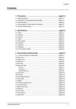 Buy Samsung SCX5312F 5112 00-contents Service Manual by download #138782