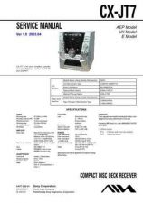 Buy AIWA CX-JT7 TECHNICAL INFO by download #125256