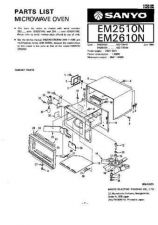 Buy Sanyo EM-S1551 Manual by download #174364