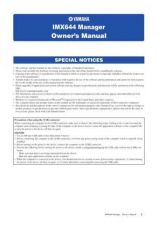 Buy Yamaha IMX644MANAGER EN OM B0 Operating Guide by download Mauritron #204743