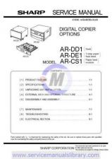 Buy Sharp ARDE5-DE6-DD3-DD4 PG GB(1) Manual by download #179568