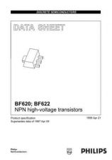 Buy SEMICONDUCTOR DATA BF620 622 3J Manual by download Mauritron #187234