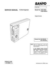 Buy Sanyo Service Manual For POA-PN01 PJ-Net Manual by download #176025