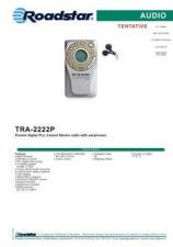 Buy ROADSTAR TRA-2222P by download #128518