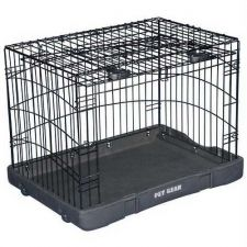 Buy Pet Gear Travel Lite Steel Dog Crate Large Black