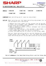 Buy Sharp VCM29HM-018 Service Schematics by download #158896