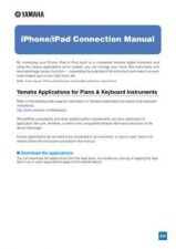 Buy Yamaha IPHONE IPAD CONNECT EN D0 Operating Guide by download Mauritron #204745