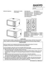 Buy Sanyo Service Manual For EM-D9552EUK SEUK Manual by download #175763