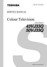 Buy 43 50VJ33Q Service Schematics by download #129843