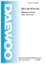 Buy DAEWOO SM KOG-37A5 (E) Service Data by download #146866