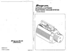 Buy Amprobe ACT9100 User Instructions Operating Guide by download Mauritron #19422