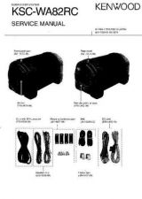 Buy KENWOOD KSCWA82 Service Manual by download #148267
