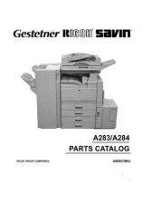 Buy Gestetner A284 Service Manual by download #155171
