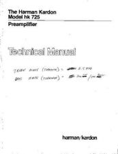 Buy HARMAN KARDON CR151L Service Manual by download #142223