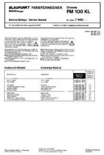 Buy Television BLAUFM100 Service Manual by download Mauritron #195506