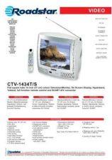 Buy ROADSTAR CTV-1434T S by download #128008