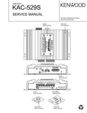 Buy KENWOOD KAC-529S Technical Info by download #148118