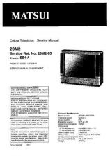 Buy Sanyo 28M2-05 SM-Only Manual by download #172652