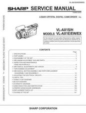 Buy VLAX1H SERVICE MANUAL FRONT Service Data by download #134201