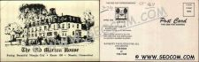 Buy CT Niantic Postcard The Old Morton House Rt 156 w/Motto On Back ct_box4, g~1611
