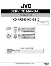 Buy JVC KD-G310U Service Schematics by download #156075