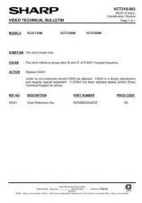 Buy Sharp VCT510HM-009 Service Schematics by download #159390