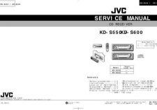 Buy JVC KD-S550 600 Service Schematics by download #156138