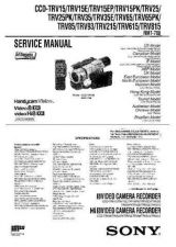 Buy SONY CCD-TRV218E Service Manual by download #166517