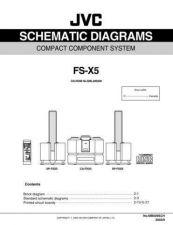 Buy JVC FS-X5 SCHEM TECHNICAL DATA by download #130708
