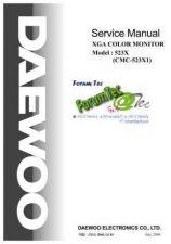 Buy DAEWOO 523X1 Manual by download #183455