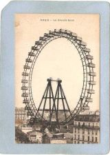 Buy FRA Paris Amusement Park Postcard La Grande Roue top_box1~492