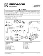 Buy SEADOO SSI9702A Service Manual by download #157713
