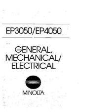 Buy Minolta EP3050 4050 GEN MECH SERVIC Service Schematics by download #137498
