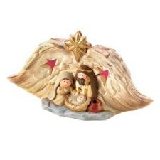 Buy Light-up Golden Nativity