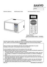 Buy Sanyo Service Manual For EM-S1050 CORRECTION Manual by download #175846