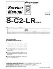 Buy PIONEER R2156 Service Data by download #153179