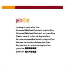 Buy PALM UWKB GETTING STARTED GUIDE EFIGS by download #127457