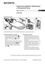 Buy SONY STP-SA CZ-SCREEN OPERATING GUIDE by download #167192