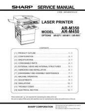 Buy Sharp 271 AR-M350 SM Manual by download #178006