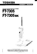 Buy Toshiba FT8001 Manual by download #172089