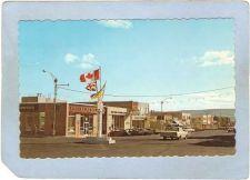 Buy CAN Dawson Creek Postcard Tenth Street Street Scene w/Older Cars Rippled E~19